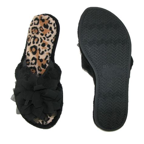 terry cloth slippers womens terry cloth crossover sandal slipper by dearfoams
