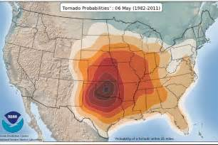 tornado alley map animated tornado probability map recoil offgrid