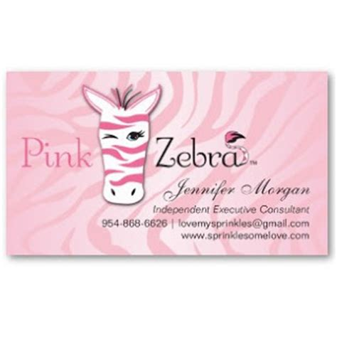 pink zebra business card template free business card showcase by socialite designs pink zebra
