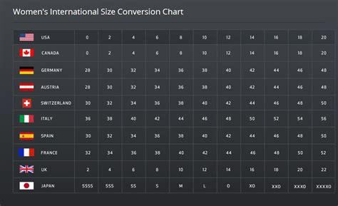 international shoe size chart shoe chart size international