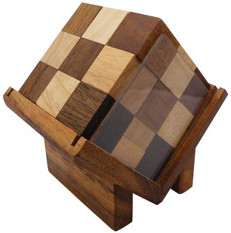 wooden puzzles complex cube brain teaser wooden puzzle