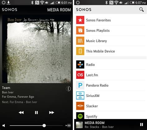 sonos android on with the new mobile sonos apps techhive