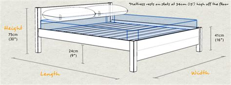 London Wooden Bed Frame Sizes And Dimensions Measurements For Size Bed Frame