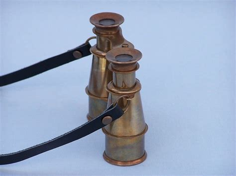 wholesale boutique copper brass collectable handwork get buy scouts antique brass binoculars 4 inch wholesale