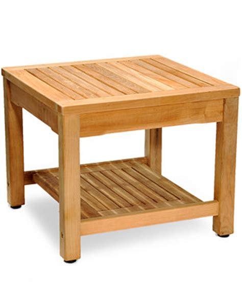 teak outdoor side table teak outdoor side table furniture macy s