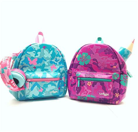 Smiggle Yay Fold Away Backpack Blue smiggle stores castle towers castle hill