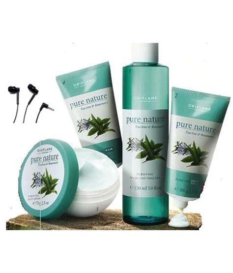 Skin Scrub Oriflame oriflame nature tea tree and rosemary kit with