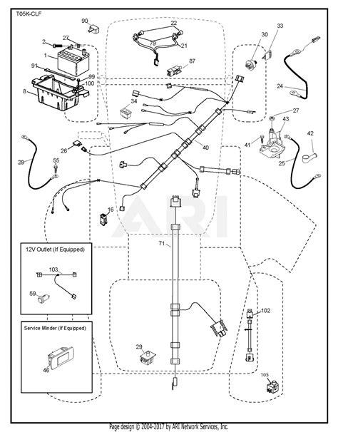 poulan ppa    parts diagram  electrical