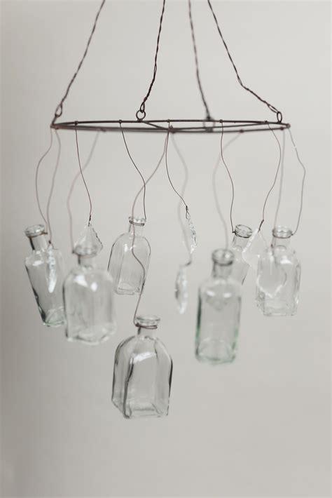 Vase Chandelier by Glass Vase Chandelier
