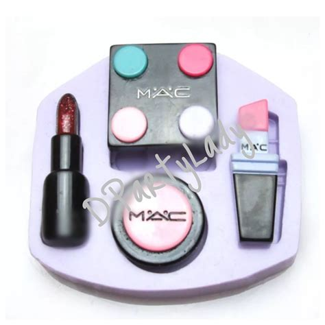 P1054 Make Up Tools And Lipstick Silicone Mold Mac Makeup Palette Or Brush Set Silicone Mold Lipstick