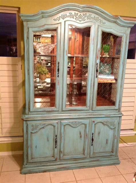 my shabby chic china cabinet project ideas for the dining room p