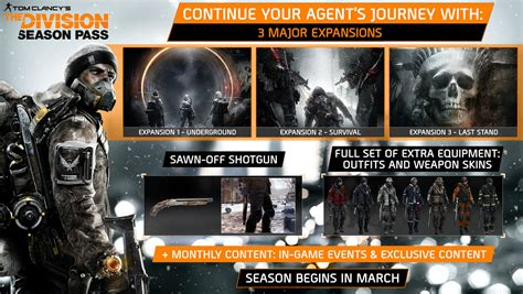 Tom Clancys The Division Requires tom clancy s the division season pass wingamestore