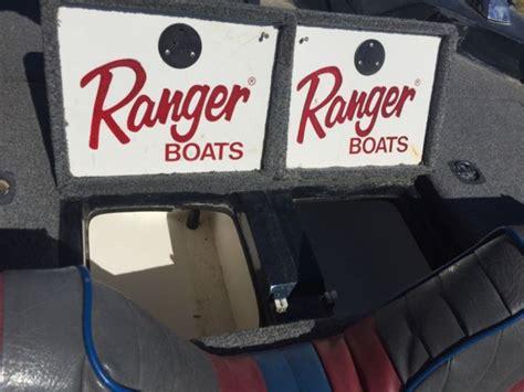 ranger boats nebraska 1993 ranger bass boat for sale in wood river nebraska