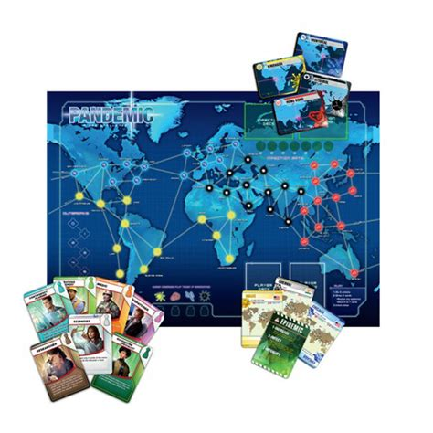 Pandemic Boardgame treat ebola anxiety with pandemic board kqed arts