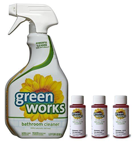 works bathroom cleaner clorox green works 174 bathroom cleaner concentrate value