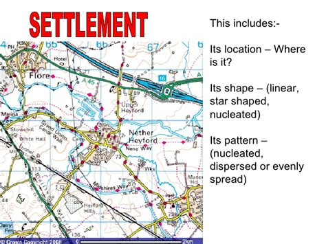what settlement pattern can you detect in sudan mapskills revision