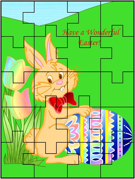 printable easter jigsaw puzzles free printable easter jigsaw puzzles page 2