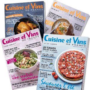 magazine cuisine et vins promo abonnement magazine cuisine et vins de