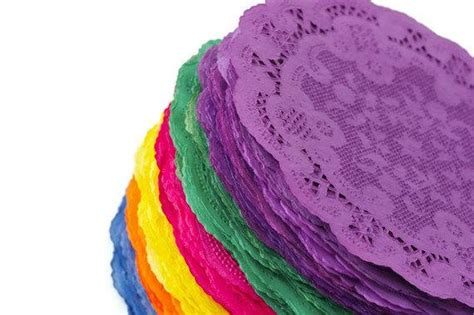 colored doilies items similar to 5 de mayo colored paper doilies
