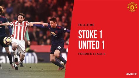 Manchester United Day stoke city vs utd highlights match day 22