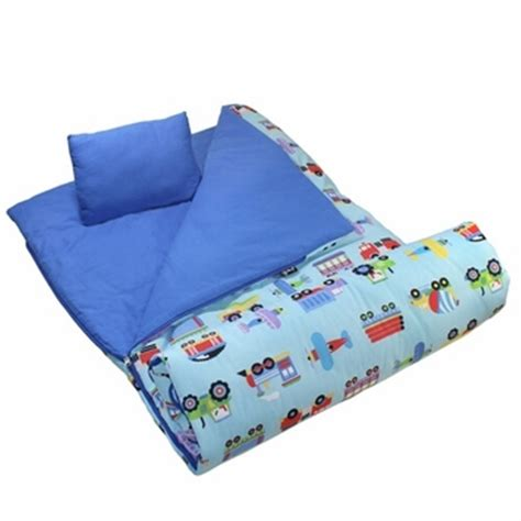sleeping bags themed slumber bags with pillow for