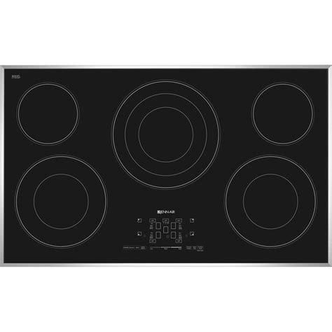 Jenn Air Glass Cooktop 36 inch electric radiant cooktop with glass touch electronic controls jenn air