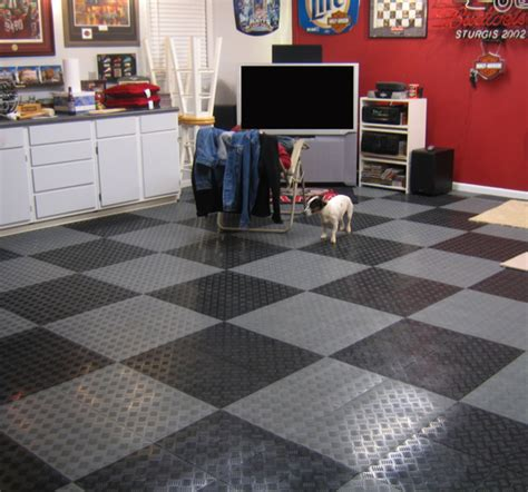 Bathroom Floor Covering Ideas tracstep interlocking garage tiles are interlocking garage