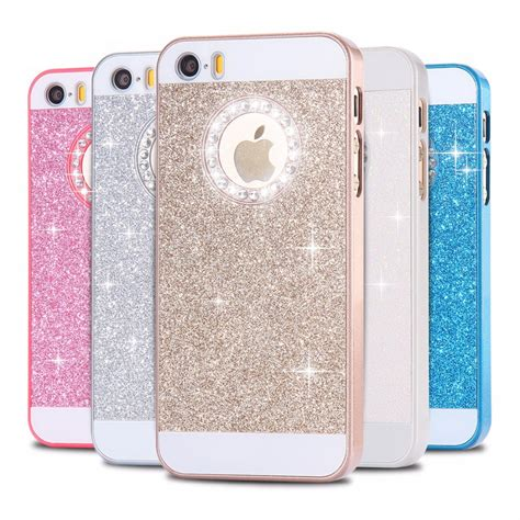 floveme for iphone 5 5s se cases glitter slim bling for iphone 5 5s se luxury