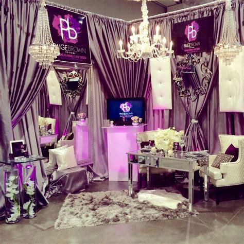 Pink bride bridal show booth, Nashville, Tennessee Wedding