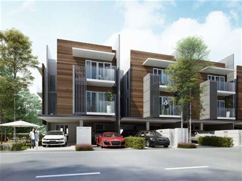 townhouse designs 124 best images about malaysia modern villas on pinterest