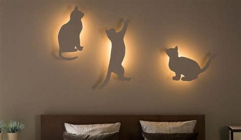 home lighting decoration diy bedroom lighting and decor idea for cat