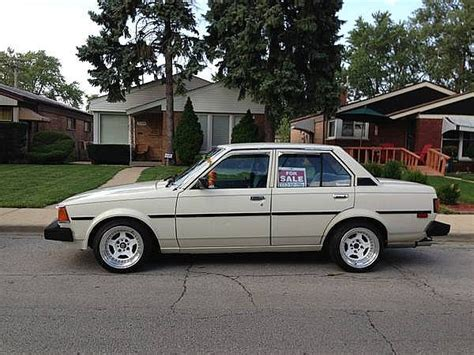 Toyota 1982 For Sale 1982 Toyota Corolla For Sale Chicago Illinois