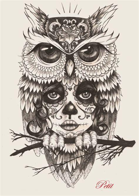 imagenes de buhos hipster buho dibujo tattoo dise 241 o imagui