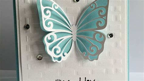 paper diy place card holder butterfly template how to make a pretty dimensional butterfly card diy