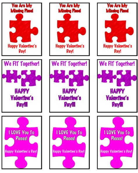 valentines puzzle free printable s puzzle theme enzasbargains