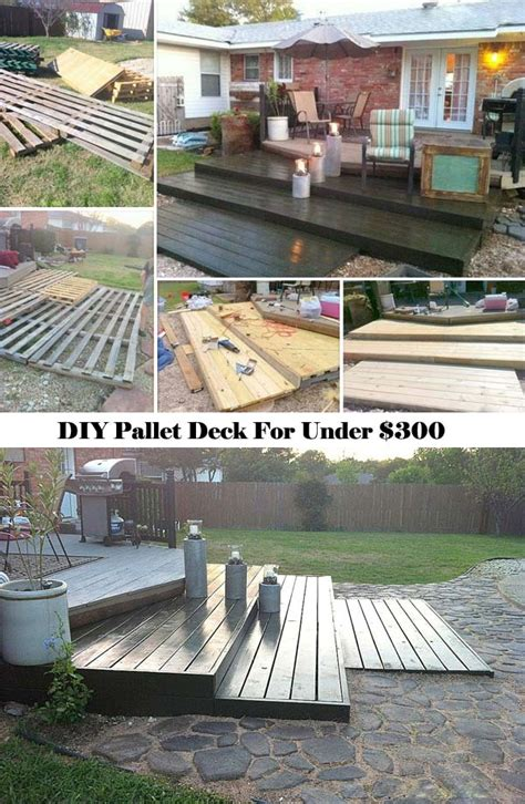 diy backyard deck top 19 simple and low budget ideas for building a floating