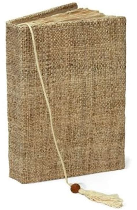 Handcrafted Journals - hemp nepal handmade journal 5x7 by barnes noble