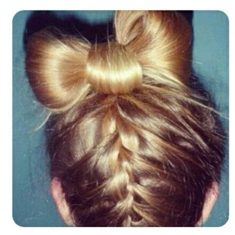 trimming your hair upside down blonde upside down french braid with hair bow