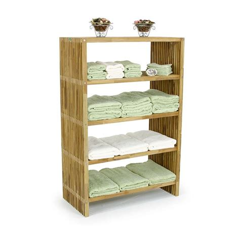 free standing towel shelf and rac westminster teak