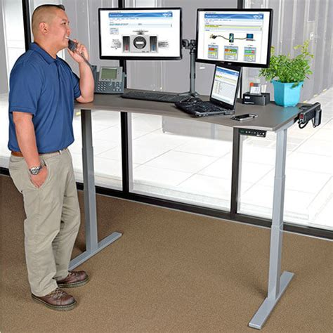 height for standing desk adjustable height standing desks sit stand desks tripp
