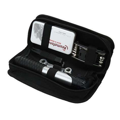 bicycle tool bag multi function folding tire repair kits multifunctional kit set  pouch pump