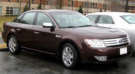 how cars run 2009 ford taurus navigation system file 2008 2009 ford taurus limited 01 25 2010 jpg wikimedia commons