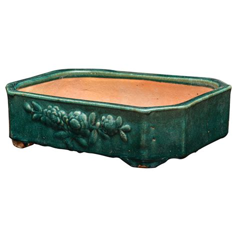 Ceramic Planters Rectangular by Glazed Ceramic Rectangular Planter At