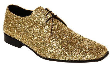 sparkly shoes mens ask the missus arrivista lace gold glitter shoes ebay