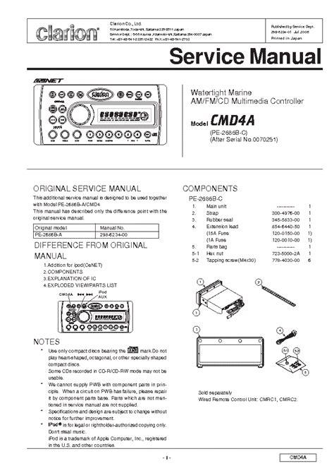 clarion xmd3 wiring diagram clarion marine xmd3 wiring diagram clarion xmd2 wiring