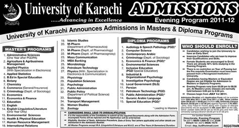 Mba Subjects In Karachi by Evening Mba Programs In Karachi Csstracker