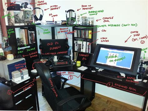 Photographers Desk Setup New Desk Setup By Commander 13 On Deviantart