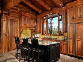 cabin kitchen ideas kitchen log cabin kitchens design ideas cabin