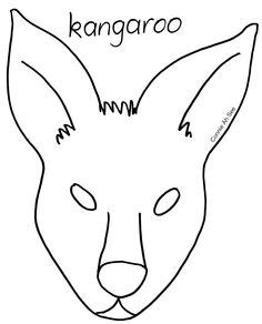 printable possum mask template 1000 images about masks costumes on pinterest animal