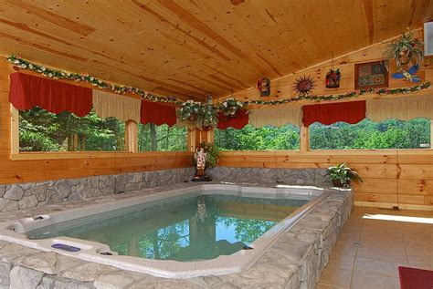 1 Bedroom Cabin With Indoor Pool by 17 Best Images About Tub On House